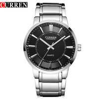 Curren Famous Watches Quart Watch Design Sport Steel Clock Top Quality Military Men Male Luxury Metal