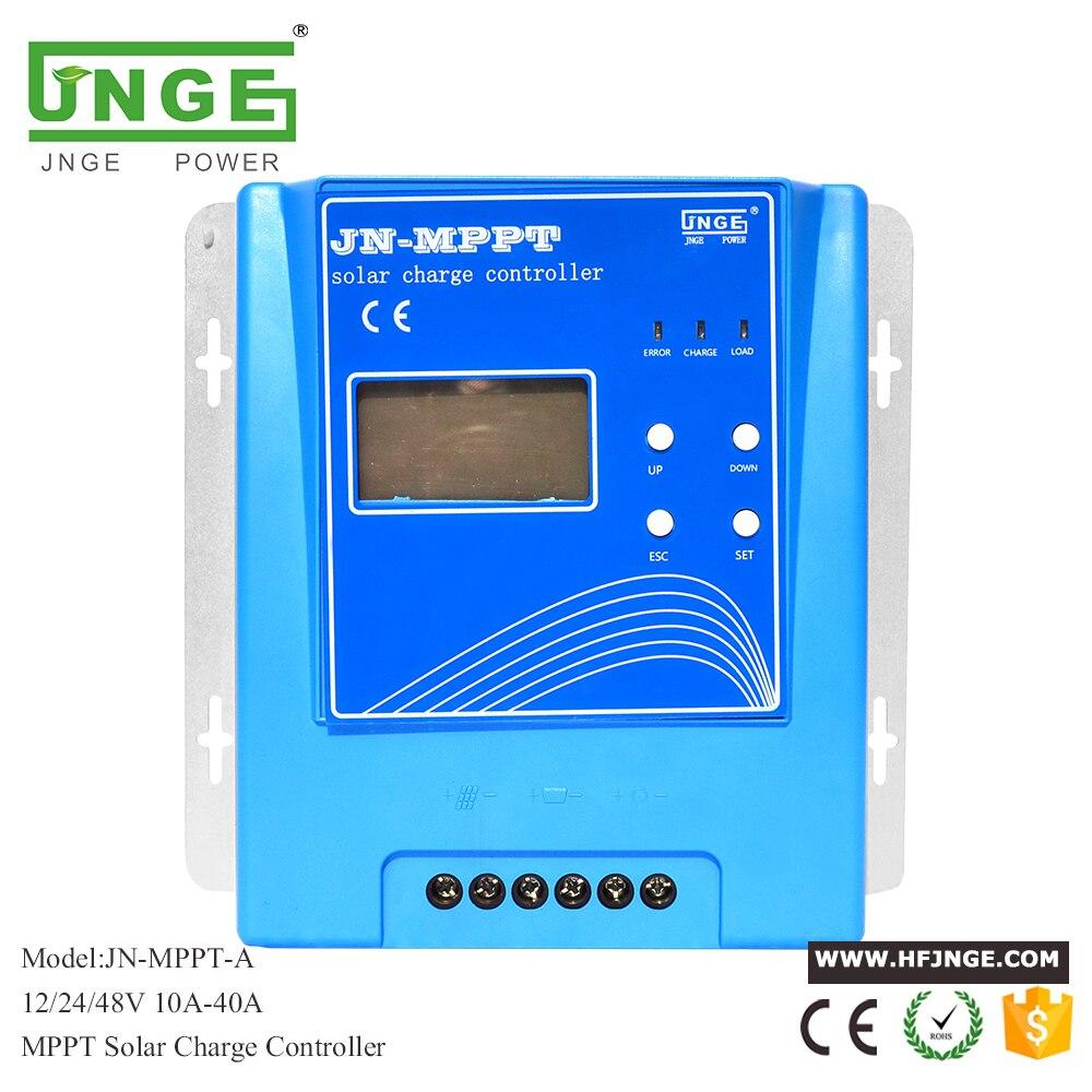 Contrôleur solaire MPPT 20A contrôleur de Charge solaire MPPT 12 V 24 V 48 V régulateur de batterie de panneau solaire avec entrée PV Max. 150 V