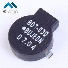 5 шт. 9032 Черный Пассивных Вч Электромагнитной Зуммер SMD 3 В 80mA 2700 Гц 92dB 9×3.2 мм Ответ устройство Двусторонней произносить
