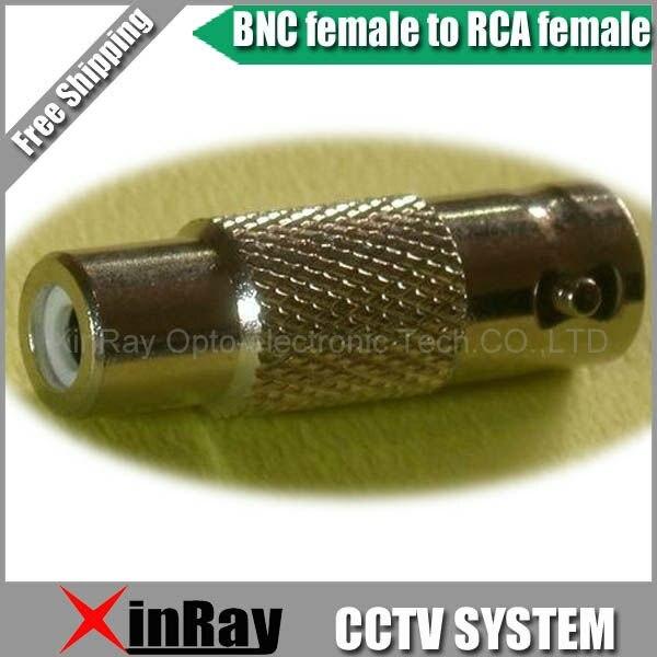 Free Shipping High Quaility 10pcs/lot New BNC Female to RCA Female AV Adapter ,CCTV Accessories ,Wholesale XR-AC13