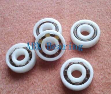 Free shipping 10pcs 6208 POM plastic deep groove ball bearing 40x80x18mm with glass balls free shipping 10pcs mr62zz mr63zz mr74zz mr84zz mr104zz mr85zz mr95zz mr105zz mr115zz mr83zz miniature bearing