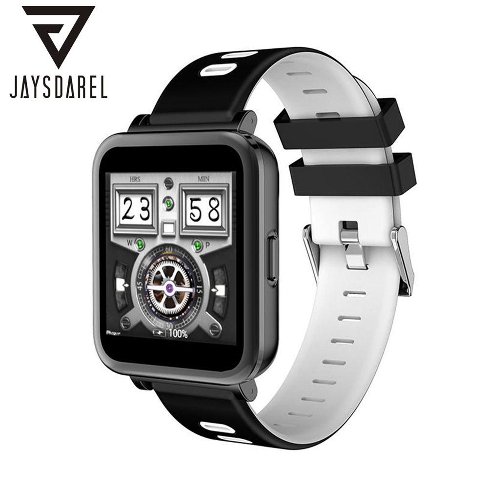 JAYSDAREL N10 Smart Watch Heart Rate Monitor 1.54 inch IPS Display Waterproof Bluetooth Fitness Tracker for Android iOS leegoal bluetooth smart watch heart rate monitor reminder passometer sleep fitness tracker wrist smartwatch for ios android