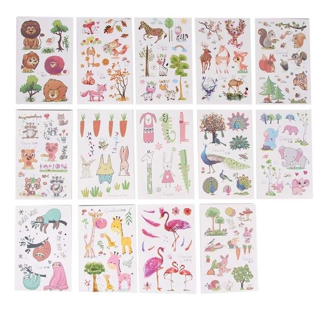 5Packs/Lot (1 Pcs/pack) Cartoon Cute Kids Children Flamingo Fox ...