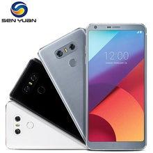 Orijinal Unlocked LG G6 dört çekirdekli 5.7 inç 4GB RAM 32GB ROM tek SIM çift arka kamera 13.0MP LTE 4G cep telefonu