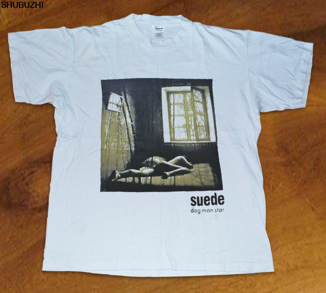 36a44bc63 Buy suede t shirt and get free shipping on AliExpress.com