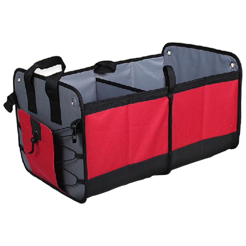 Auto Accessories Car Organizer Storage Trunk Big Car Rear Back Seat Foldable Trunk Bag Holder Pocket Stowing Tidying Tool aumohall car multi pocket organizer large capacity folding storage bag trunk stowing and tidying