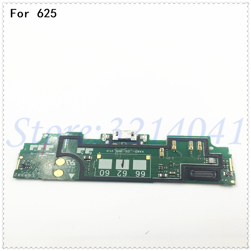 Original New For <font><b>Nokia</b></font> <font><b>Lumia</b></font> <font><b>625</b></font> Dock Connector Charger Board <font><b>USB</b></font> <font><b>Charging</b></font> <font><b>Port</b></font> Flex Cable Replacement image