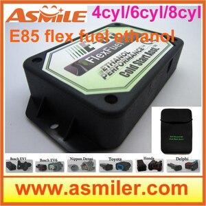 Image 1 - Комплект для преобразования e85 4cyl 6cyl (пластиковый чехол) холодный старт Asst, гибкое топливо, комплект этанол e85, суперэтанол DHL Бесплатная цена