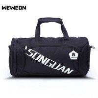 Best Seller Yoga Bag Cylinder Gym Bag For Men And Women Portable Sports Bag With Independent