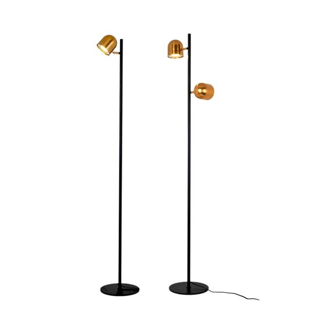 LED floor lamp Luxury golden color Standing Lamp metal body new ...