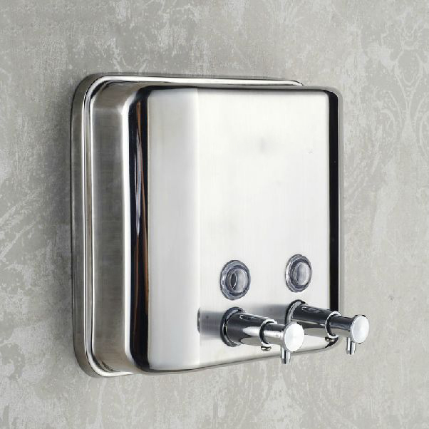 Liquid Soap Dispensers 1500ml Stainless Steel Wall Mount Soap Dispenser Kitchen Bathroom Washroom Shampoo Dispenser Z-1500ml acer liquid jade z