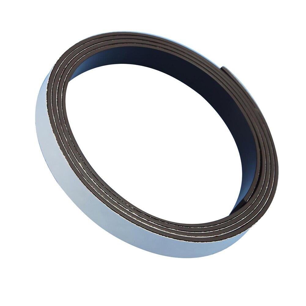 1 Mt Band Magnet Magnetische Flexible Roller Streifen Magnet Klebestreifen 10x1,5mm