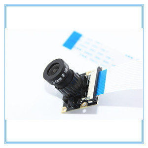 Image 3 - ラズベリーパイ 3 ナイトビジョン魚眼カメラ 5MP OV5647 72 度焦点調節可能なカメラのためのラズベリーパイ 3 モデルbプラス