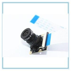 Image 3 - Raspberry Pi 3 Night Vision Fisheye Camera 5MP OV5647 72 Degree Focal Adjustable Camera for Raspberry Pi 3 Model B Plus