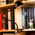 Flexible Clip Lights Adjustable LED Lamp Eye Protection Reading Light Desk Table Lamp Bedside Lamps for Study Reading