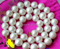"""Wholesale   >>AA++ 17"""" 11mm WHITE ROUND FRESHWATER PEARL NECKLACE"""