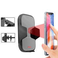 Car Air Fast Intelliget Qi Wireless Charger For iPhone XS Max XR X 8 Plus Samsung S9 S8 S7 Wireless Charging Car Phone Holder