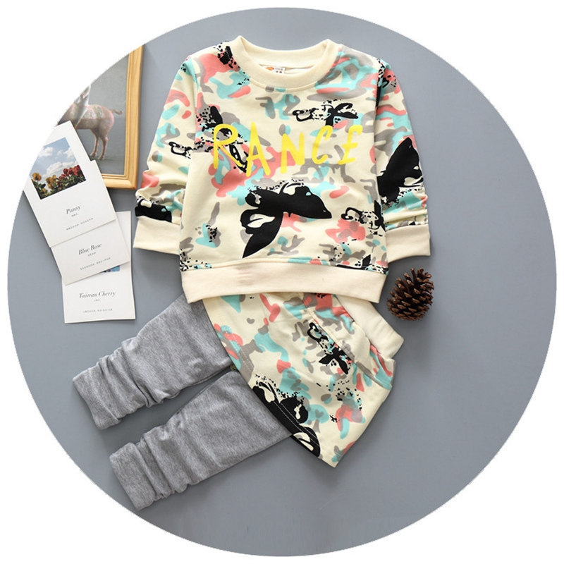 infant baby girl clothes sets new Spring Autumn baby girls suits 2pcs long sleeve pullover printed shirts+pants with skirt 2015 fashion baby spring three pieces suits korean printed cardigan shirts