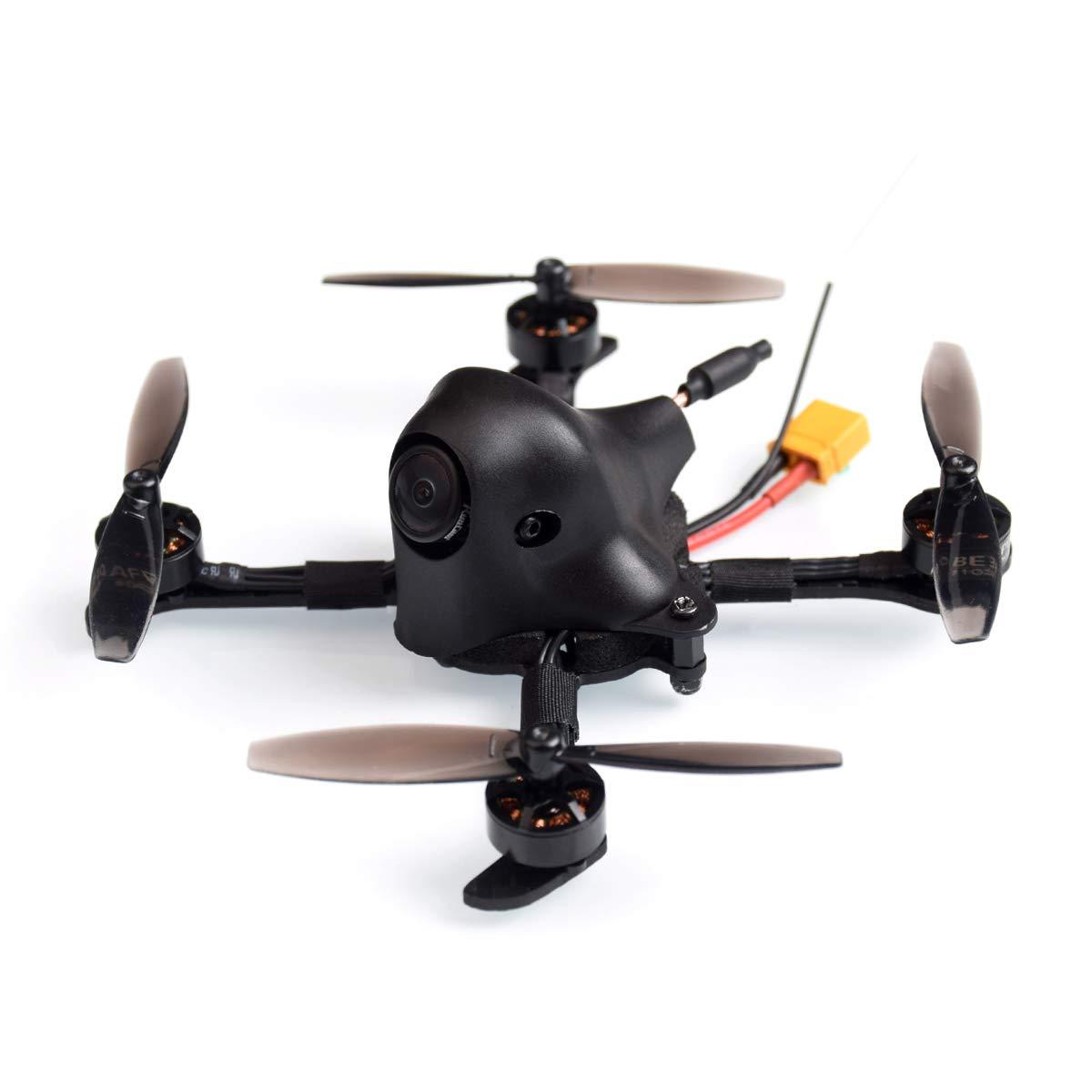 HX100 100mm 2-3S FPV Racing Quadcopter Carbon Fiber With F4 2-4S AIO 12A FC Runcam Nano V2 Camera OSD Smart Audio Motor RC Drone