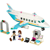 Girl Friends SY807 Heartlake Private Jet Building Block Plane Brick Olivia Matthew Compatible With Legoe 41100
