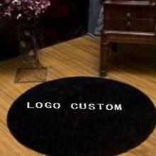 Brand carpet for living room bedroom parlor Portrait Custom rugs Acrylic large size mat famous branded logo custom carpets