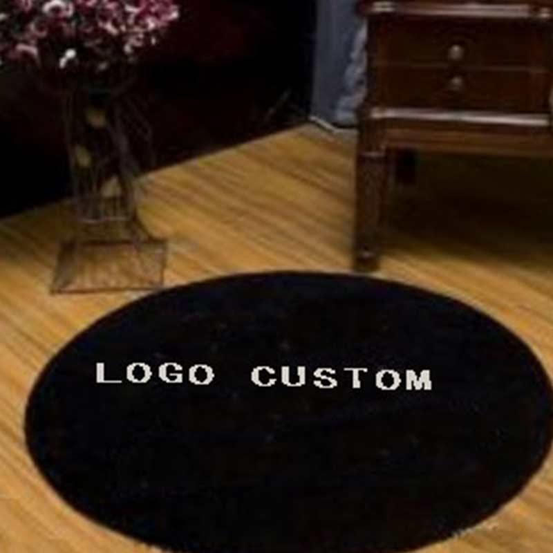 ALITEXTILEBT 100% tapis acrylique pour salon grande taille Rectangle rond confortable tapis salon avec Logo personnalisé