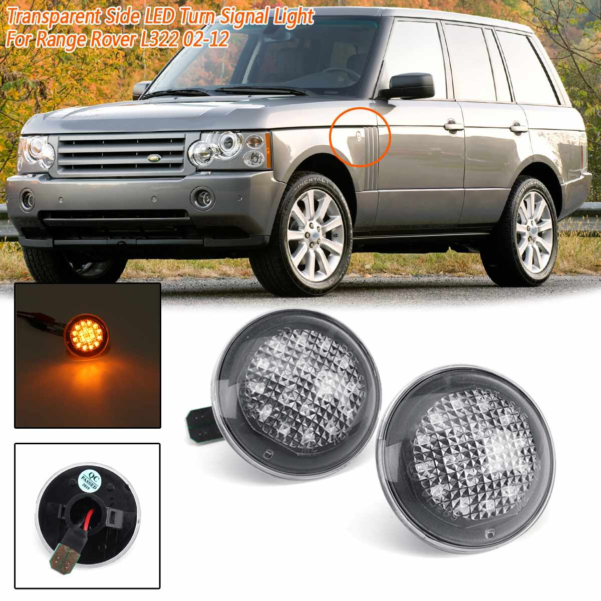 For Land Rover Range Rover L322 02-12 High Mounted Stop Third Brake Lamp Light