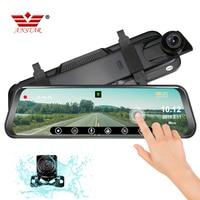 ANSTAR Автомобильный dvr Android 4 г Автомобильное Зеркало Dash Cam 1080 P Dvr автомобиль ужин ночного видения ADAS gps камера заднего вида Dash Cam зеркальный реко