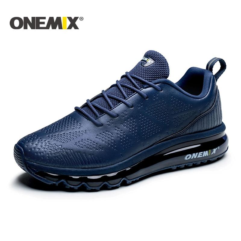 ONEMIX 2019 New Road Running Shoes Men Athletic Shoes For Men Walking Shoes For Women Unisex Jogging Shoes Leather Sneakers Men