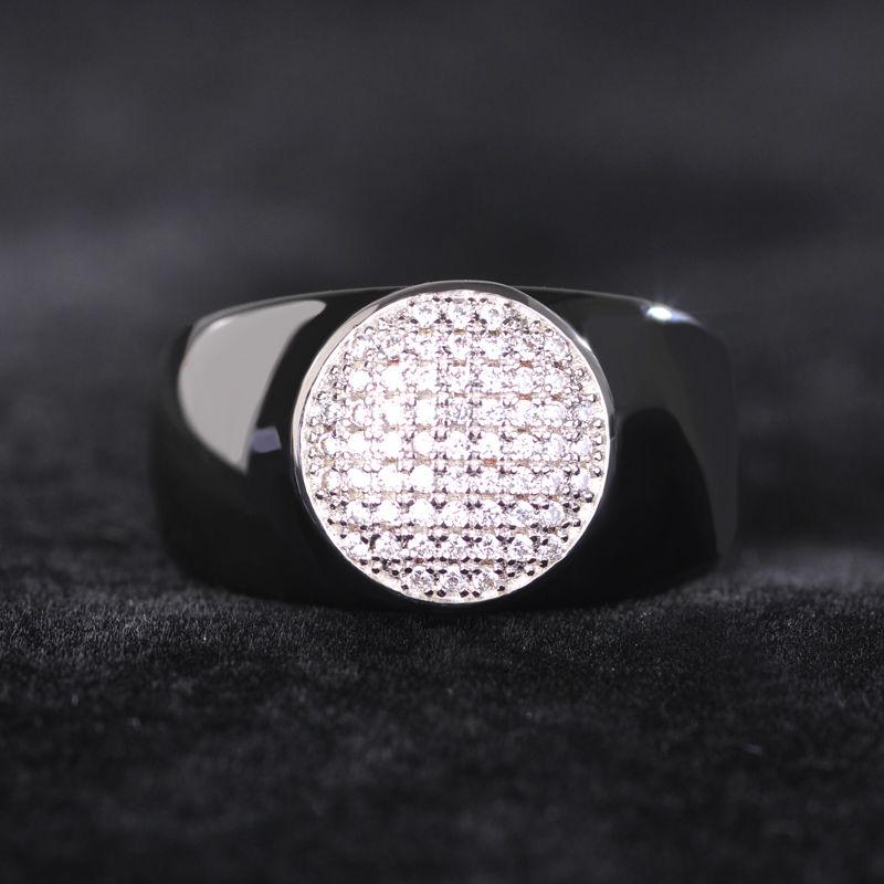 Dazz απλό μαύρο στρογγυλό ζιργκόν - Κοσμήματα μόδας - Φωτογραφία 5