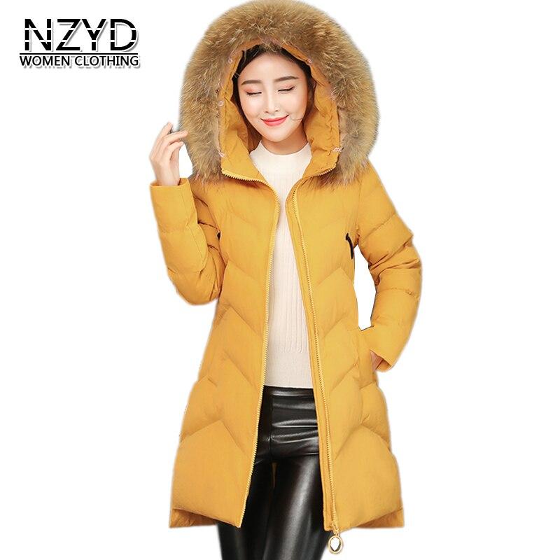Épais 2018 Fashion Femmes Manteau Fourrure Nouvelle gray M Chaud yellow Col Hiver black Casual 2xl Veste À Moyen long Red Style De Rusty Coton Nzyd914 orange Capuchon Femelle rrXw6q