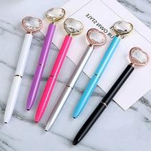 Metal Ballpoint Pen for Girl Gift 1 mm Black Refill Ballpen Office School Stationery Joy Corner