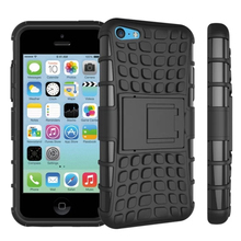 For iPhone 5c Case Heavy Duty Armor Shockproof Hybrid Hard Soft Silicone Rugged Rubber Phone Case