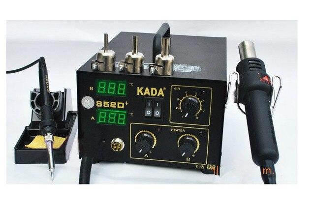 KADA 852D + 2 en 1 220 v SMD SMT poste à souder à air chaud fer ... 06e898751ae4