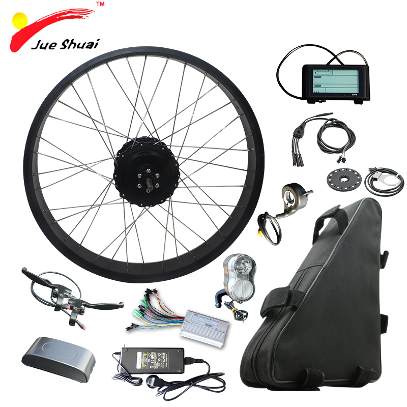 48 v 1000 w Kit Bicicletta Elettrica con 48 v 20AH Batteria Al Litio 4.0 Pneumatico Grasso Bici 20
