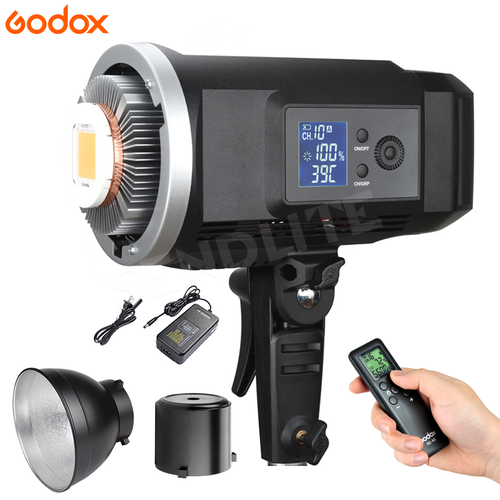 New <font><b>LED</b></font>! Godox SLB60 60W Super Power <font><b>LED</b></font> <font><b>Studio</b></font> <font><b>Photo</b></font> Outdoor illumination Light +Li-ion Battery+Remote+Charger for Photography