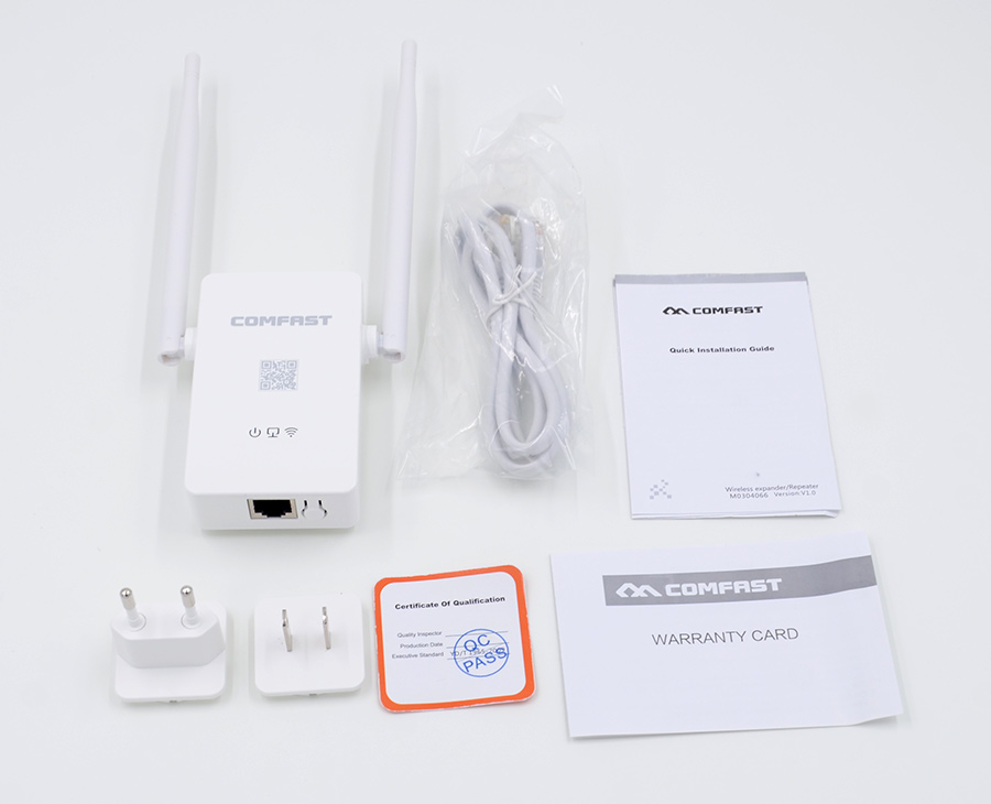 New Updated Comfast Wireless WIFI Router Repeater 300M 2 5dBi Antenna Wi fi Signal Repeater 802