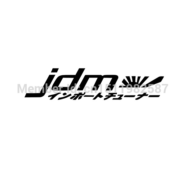 Racing JDM Japan Kanji Windshield Windscreen Front Glass