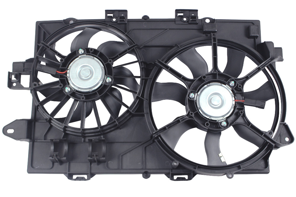 GM3115204 OE Style Radiator Cooling Fan Assembly Replacement for Chevy Equinox Pontiac Torrent 3.4L V6 06-08