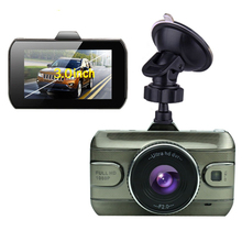 Car Camera HD 3 Inch LTPS LCD Dual Lens DVR Dash Video Recorder Double Recording Parking Monitor Driving