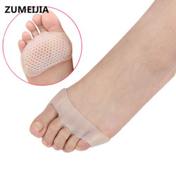 2 piezas herramientas para el cuidado de los pies Sholl Gel plantillas para zapatos Bunion Corrector Valgus Toe separador celular transpirable ortopédico conjuntos