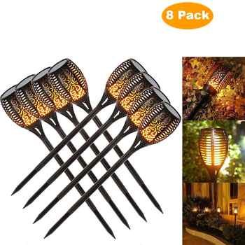 Solar Flame Flickering Garden Lamp Torch Light IP65 Outdoor Spotlights Landscape Decoration Led Lamp for Garden Pathways - DISCOUNT ITEM  45% OFF All Category