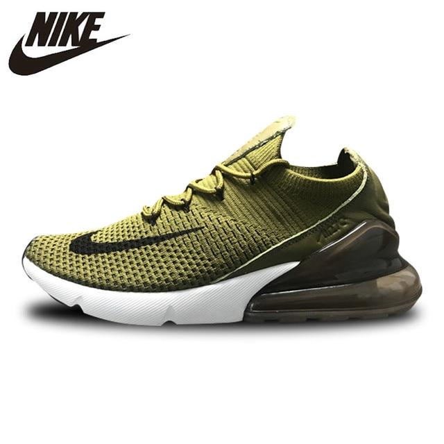 55ef0a38789 NIKE AIR MAX 270 zapatillas de deporte deportes al aire Libre Verde blanco  para hombres AO1023