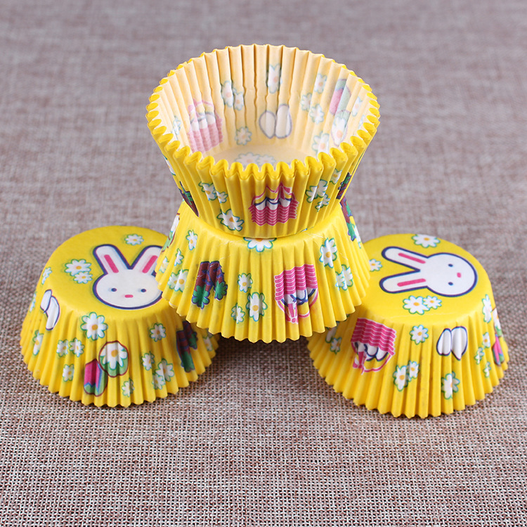 Image 5 - 100PCS Muffins Paper Cupcake Wrappers Baking Cups Cases Muffin Boxes Cake Cup Decorating Tools Kitchen Cake Tools-in Baking Inserts from Home & Garden