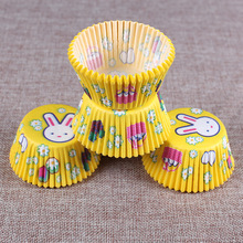 100PCS Muffins Paper Cupcake Wrappers Baking Cups Cases