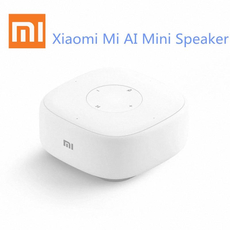 Xiomi Mini AI Speaker Smart Voice Remote Control Portable Bluetooh Speaker For Artificial Intelligent WiFi portable speaker цена