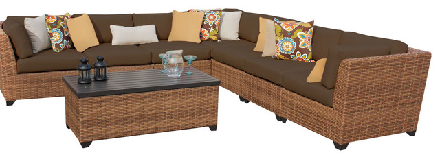 Surprising Us 854 05 5 Off Classic Furniture 8 Piece Outdoor Wicker Patio L Shape Sofa Set In Garden Sofas From Furniture On Aliexpress Andrewgaddart Wooden Chair Designs For Living Room Andrewgaddartcom