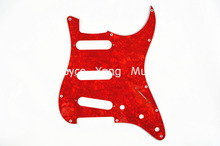 Niko Pearl Red 4 PLY Electric Guitar Pickguard For Fender Strat Style Electric Guitar Free Shipping Wholesales