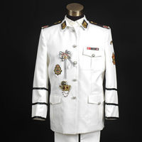Free ship mens sailor uniform, jacket with pants/stage performance