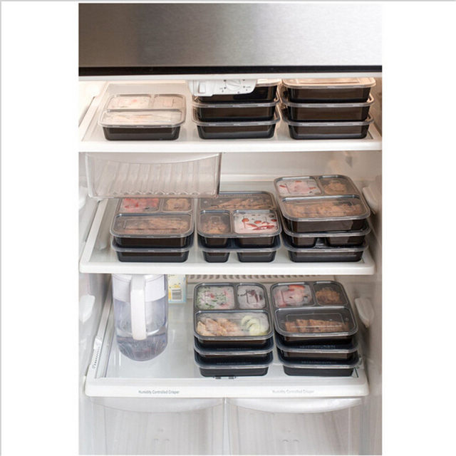 3-Compartment-Reusable-Plastic-Food-Storage-Containers-with-Lids-Microwave-and-Dishwasher-Safe-Bento-Lunch-Box (5)